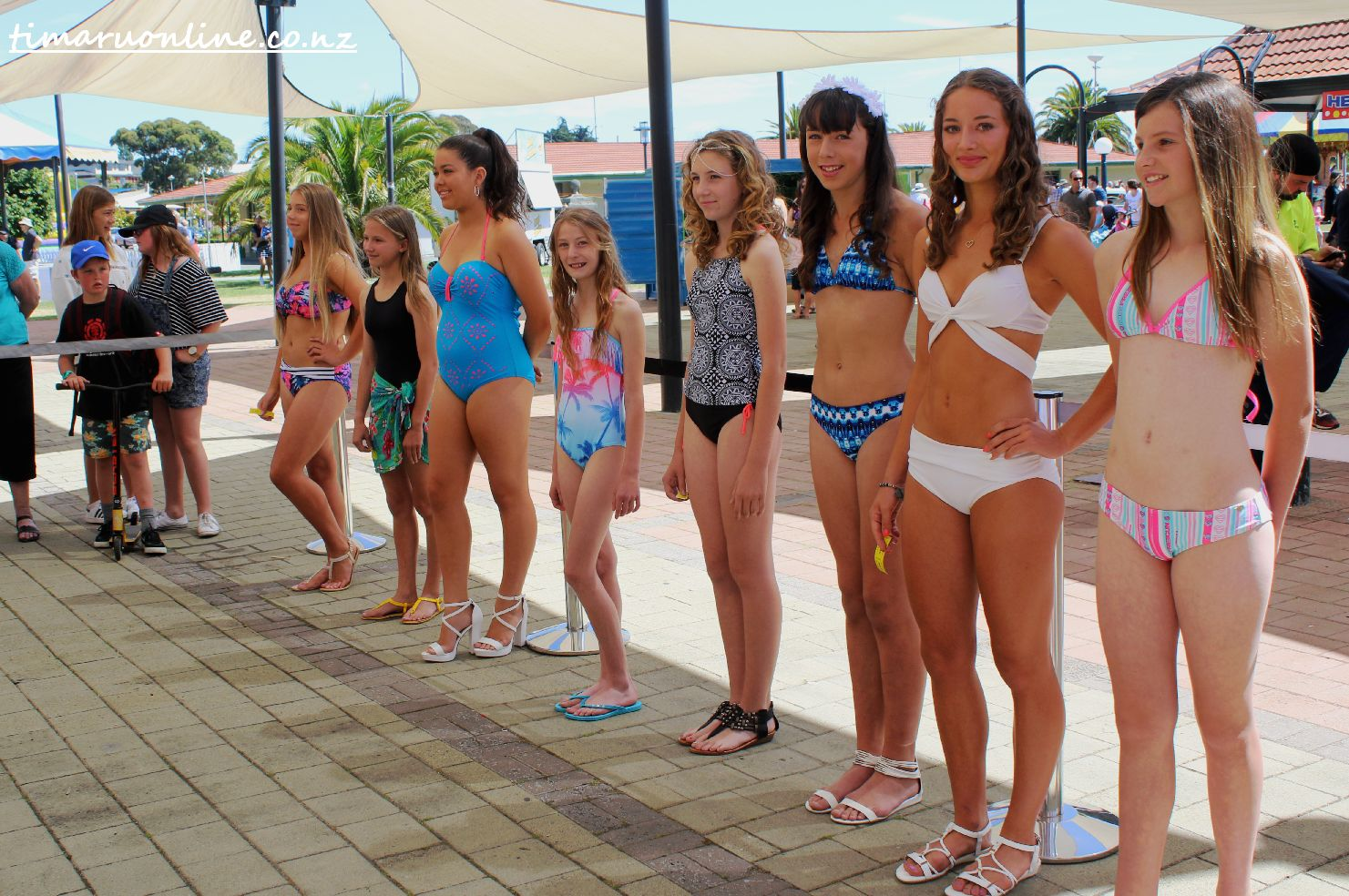 Junior bikini contest