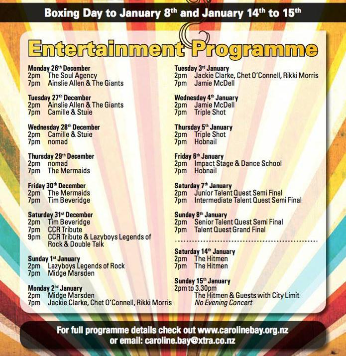 carnival-programme
