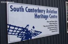 The South Canterbury Aviation Heritage Centre, at Timaru's Richard Pearce Airport at Levels.