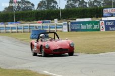 Doug Macdonald (85) in his 1956 Alfa Romeo Special, 1750 cc