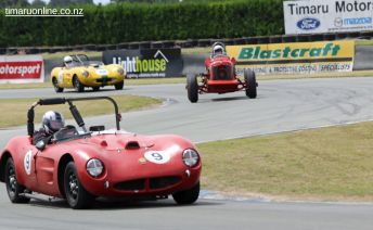 Chris Read drives his 1957 Mistral TR3A, 2088cc