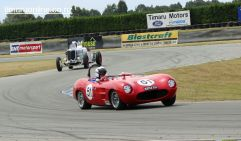 Don Gerard (51) from Rangiora in his 1959 Mistral, 1500 cc