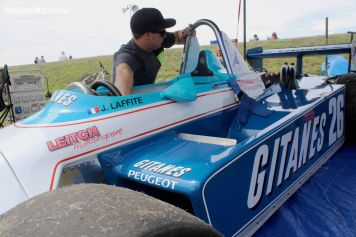 Damon Leitch, from Invercargill, works on his 1981 Ralt RT4, 1600 cc