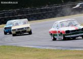 Alan Inglis (23), from Rangiora, corners his 1970 Ford Escort Mk 1