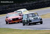 (172) Alan Radburnd, of Christchurch, in a 1971 Leyland Mini Cooper S