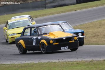 David Wood (167) in his 1978 Triumph Dolomite, 4400 cc