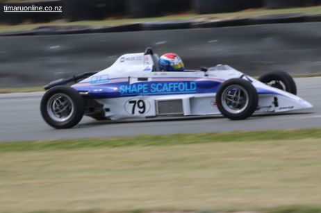 (79) Tim Miles, from Australia, drives his 1986 Van Dieman RF 86