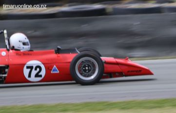 Ron Wilkin (72), from Tuakau, in his 1972 Elden Mk 10