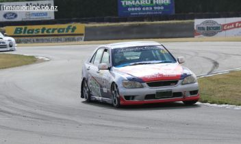 Tony Carstairs, from Christchurch, in a Toyota Altezza
