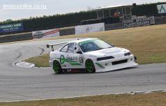 Mitch van der Weert, from Lincoln, in a Honda Integra