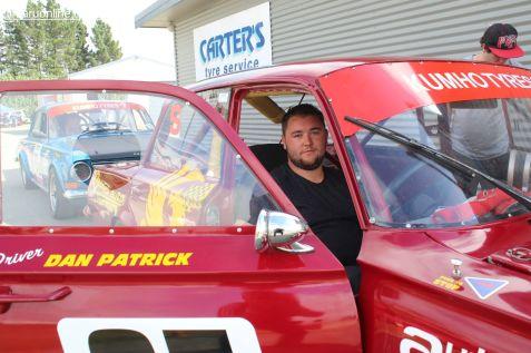 Dan Patrick, from Christchurch, in his Vauxhall PB
