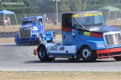 (14) Alex Little, from Upper Hutt, in his Freightliner