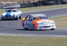 (42) Mike Baldwin from Timaru, in His Holden Commodore VK