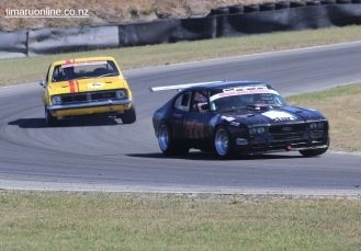 (777) Andi Lloyd, from Christchurch, in a Ford Capri