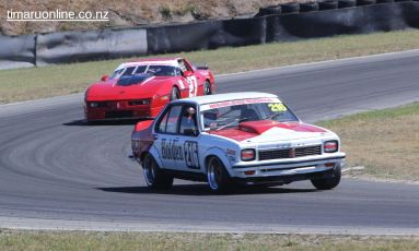 (216) Tony Densem, from Rangiora, in his Holden Torano A9X
