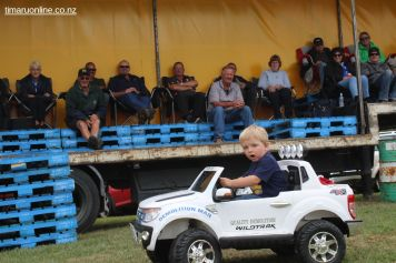 Jacob Gray, of Wellington, has his own Super Truck.