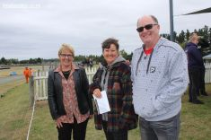 Jo Goodhew, Irene Emond (Trust Aoraki) and Mark Goodhew