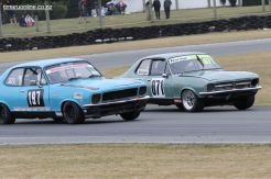 Two Holden Torana's of David King (71) and Stuart Jack (197)
