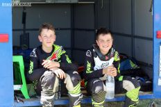 Bradley Hamburger & Tyler Wiremu (both 11 yrs)