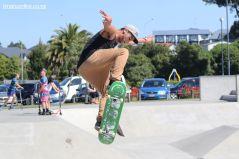 Eru Tutaki on the skateboard