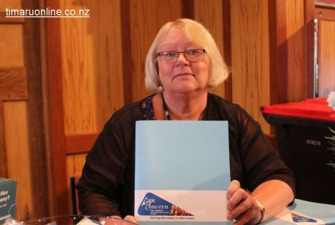 Sonia King, Accredited Visiting Service (AVS) coordinator (Age Concern)