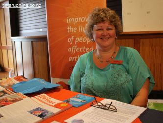 Vanessa Stone, community educator (Arthritis NZ, Timaru)