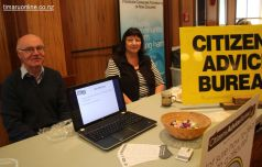 Stuart McDonald & Suzanne Cullimore (Citizens Advice South Canterbury)