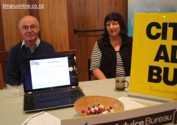 Stuart McDonald & Suzanne Cullimore (Citizens Advice Bureau South Canterbury)