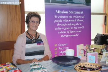 Helen Coles from the Timaru Mental Health Support Trust (Victoria House, Timaru)
