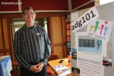 Mark Bourrasa (adg 101), a Mental Health & Addictions Drop-in Centre, Timaru