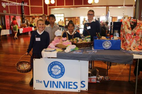 Maddie, Limuel, Ianna & Bre from St Vinnies