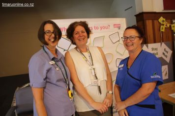 Sonya, Kaye and Tracey from SCDHB