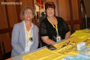 Kerry Bennett and Jan Andrews from Victim Support South Canterbury
