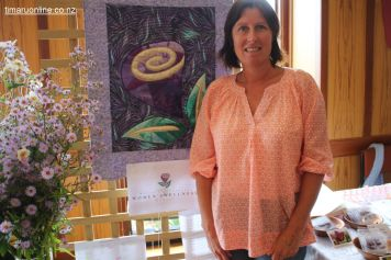 Pip Harrison, from the Women's Wellness Centre, South Canterbury