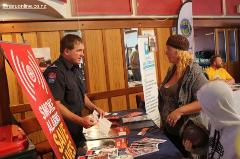 Craig Chambers, Timaru fire risk management officer, discusses smoke alarms
