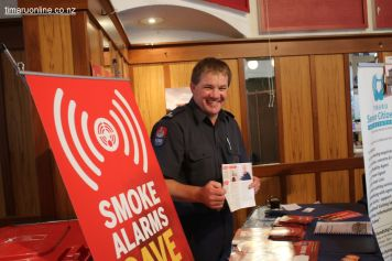 Craig Chambers, Timaru fire risk management officer