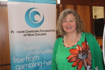 Sue Gill, counsellor (Problem Gambling Foundation NZ)