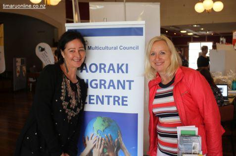 Marita Hicks & Rosie Knoppel (Aoraki Migrant Centre)