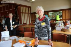 Doreen keeps a track of attendees