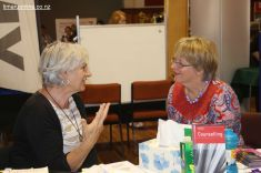 Vivienne Macfarlane and Catherine Richardson both counsellors and members of the NZ Association of Counsellors