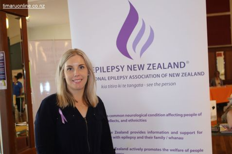 Anna Lee McLeod, Epilepsy Information and Support Specialist for the Canterbury/West Coast