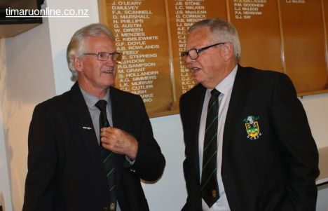 SCRFU Chairman Ray Teahen and CEO Craig Calder