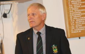 Murray Roberts, the first representative of the Harlequins RFC to be elected President