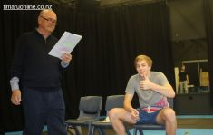 Tim Wills gives his verdict on the Drama Department, with Don McCully & Johannes Runge