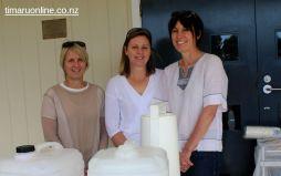 PTA helpers: Janet McIvor, Kathryn Bampton & Linda Hepburn