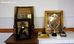 Te Waipounamu Maori Rugby taonga (trophies)