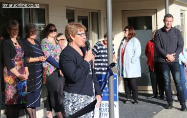 Rangitata MP, Jo Goodhew, congratulates all involved with the completion of the project.