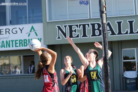 Teenage Netball 0053