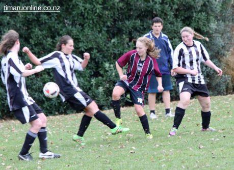 Tka v PlPt Womens Football 0054
