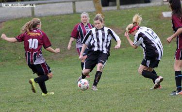 Tka v PlPt Womens Football 0082